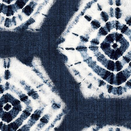 Shibori / Indigo - Peel and Stick Wallpaper